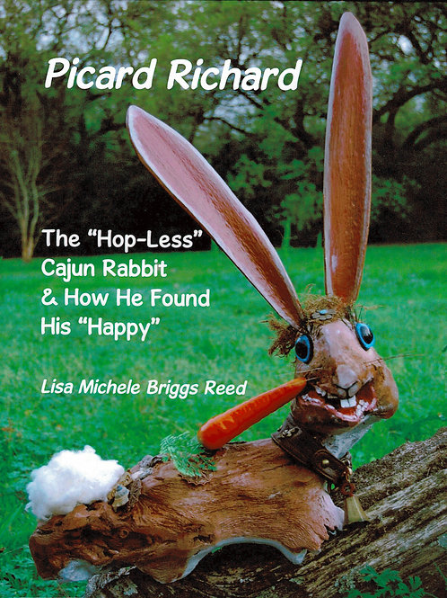 "Picard Richard - The ""Hop-Less"" Cajun Rabbit"