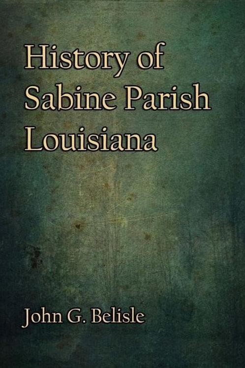 History of Sabine Parish, Louisiana
