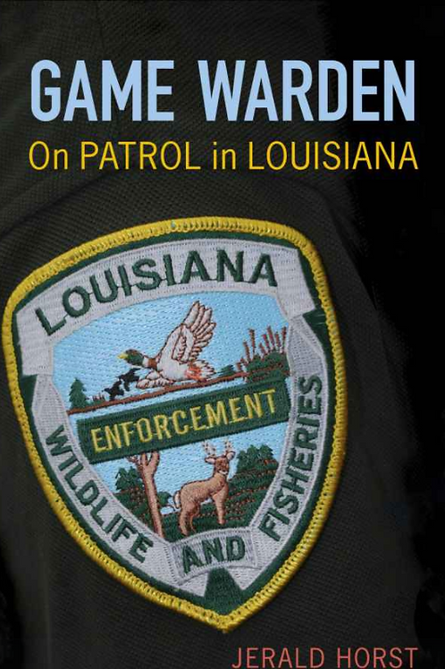 Game Warden On Patrol in Louisiana