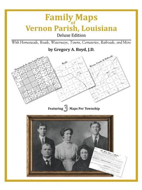 Family Maps of Vernon Parish, Louisiana