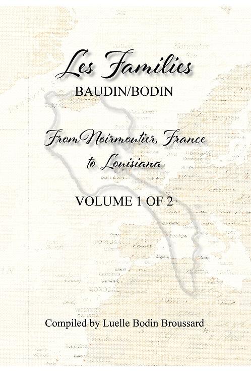 Les Families Baudin/Bodin from Noirmoutier, France