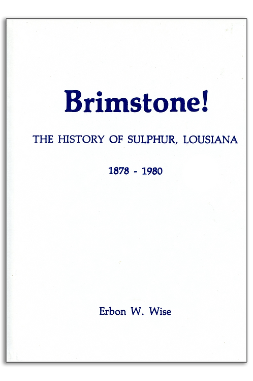 Brimstone! The History of Sulphur