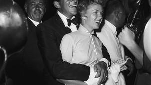 Dean Martin & wife