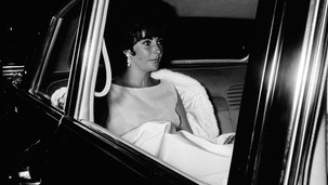 Liz in limo