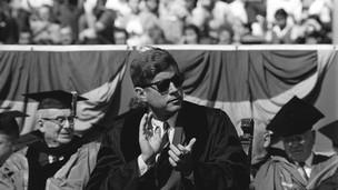 JFK with sunglasses
