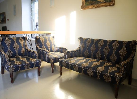 istemööbli komplekt 2 tugitooli+sohva