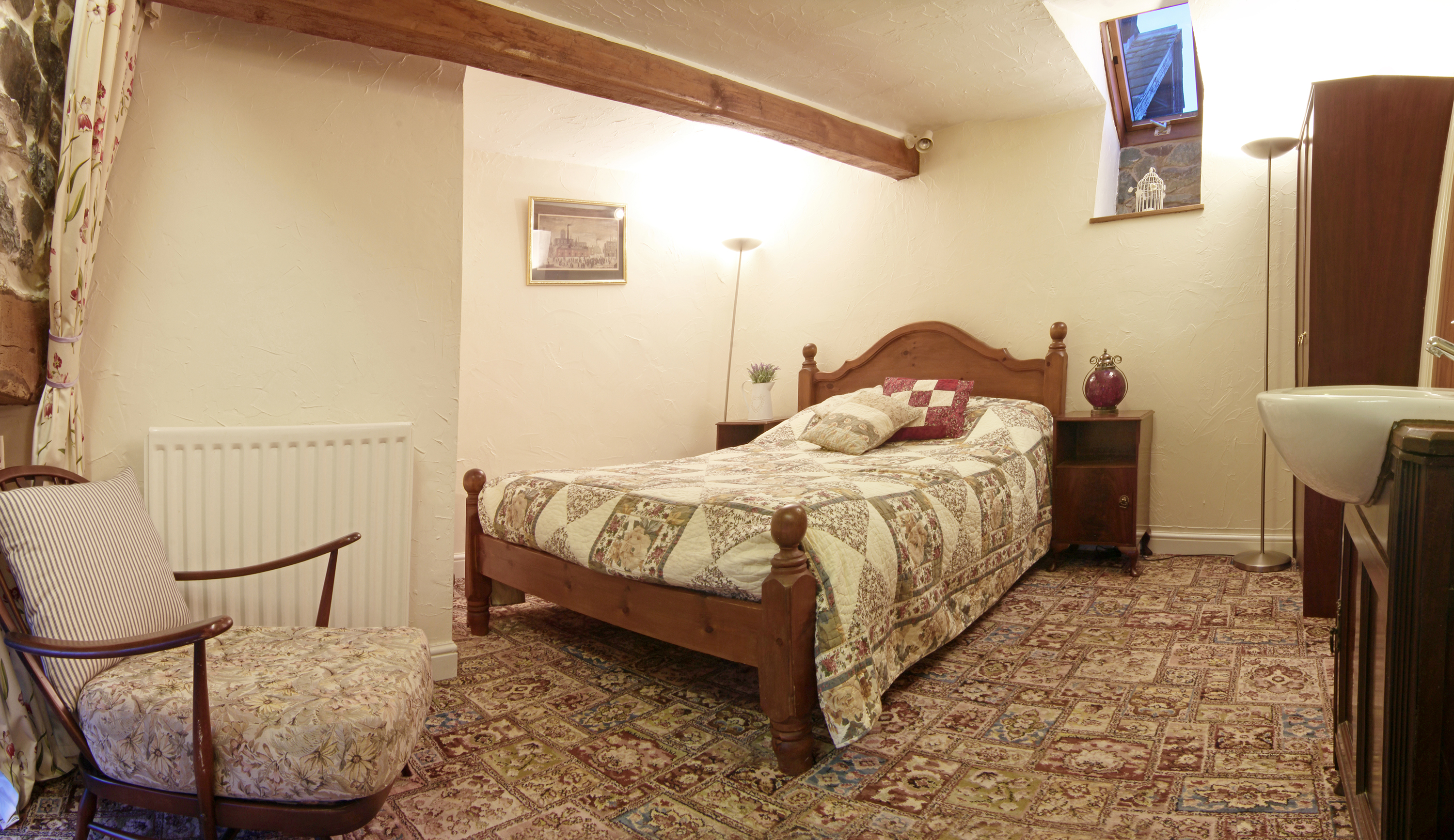 Beauthorn Coach House Double Bedroom