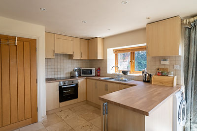 Brush & Boot self catering kitchen