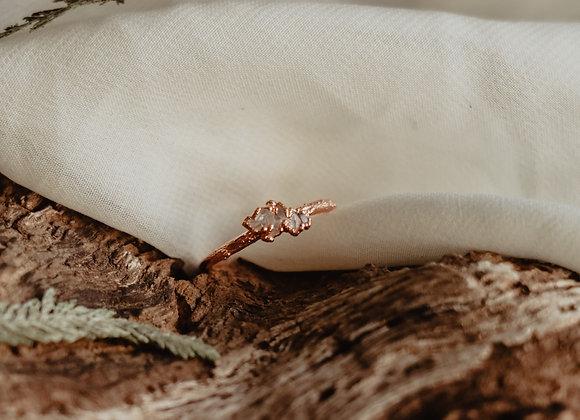 Herkimer Diamond Cluster Ring - 6.5/7