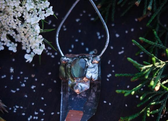 Labradorite & Quartz Necklace