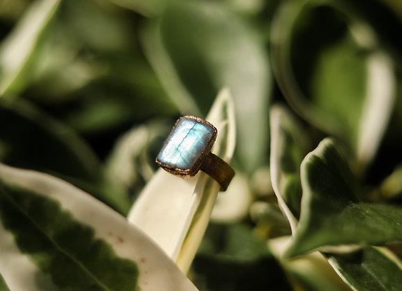 Size 7 Labradorite Ring