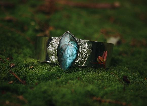 Labradorite Silver Solder Bracelet