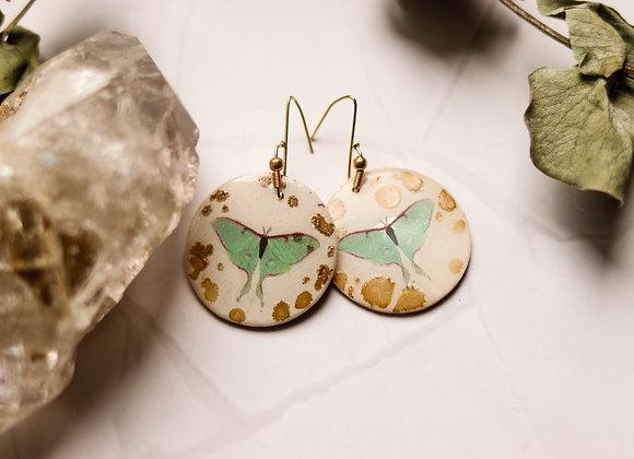 Luna & Gold Earrings