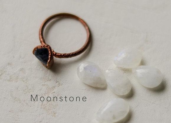 Medium Single Stone Ring or Necklace