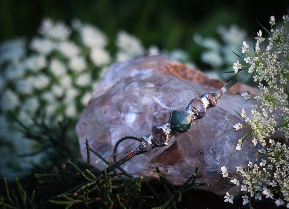 Emerald & Quartz Bracelet