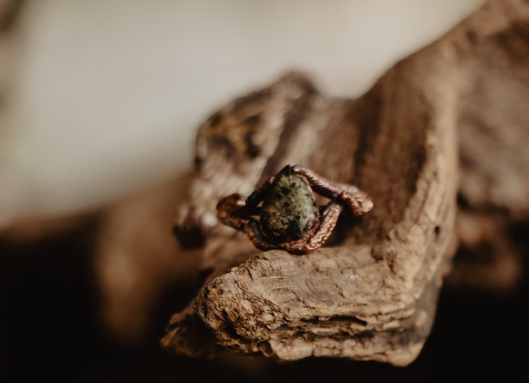 Moss Branches Ring - Size 7