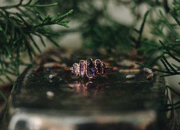 Amethyst Ring - Size 8.25