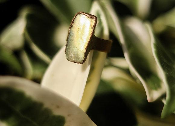 Size 6 Labradorite Ring