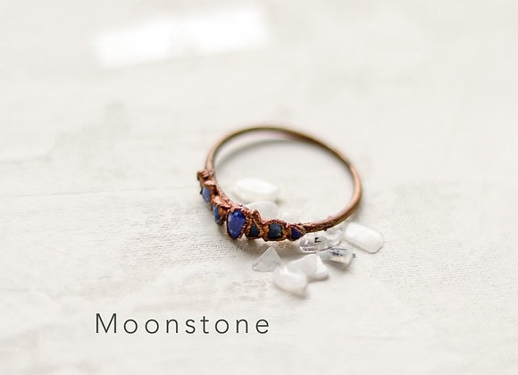 Stone Chip Ring or Necklace