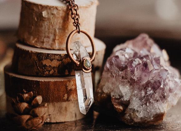 Quartz & Opal Necklace