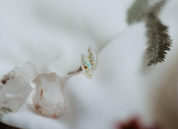 Opal Chip Earrings