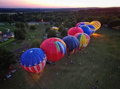 New Haven Balloon Glow, Pepsi Balloon, Pepsi Hot Air Balloon, Balloon Glow,