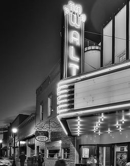 Walt Theatre neon, Walt Theatre marquee,  Walt Theater neon, Walt Theater marquee, The Walt, Walt Theatre, Walt Theater, Walt New Haven MO