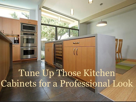 Tune Up Those Cabinets for a Professional Look