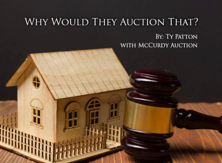 Why Would They Auction That?