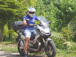 moto tour thailande