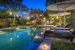 hotel style thai avec piscine thailande