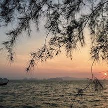 couché de soleil thailande