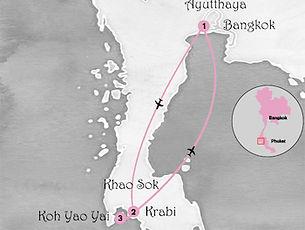 carte circuit bien-etre thailande