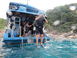 baptême de plongée à Phuket