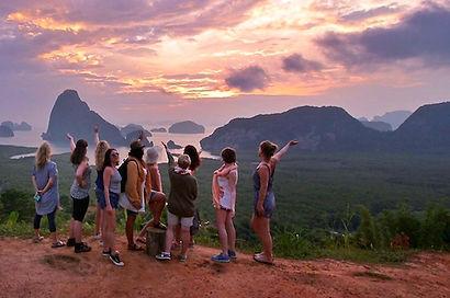 circuit entre filles sud thailande