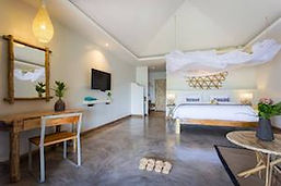 Chambre d'hôtel pakpra lagoon à phattalung sud thailande