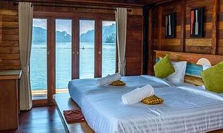 bungalow flottant lac de khao sok