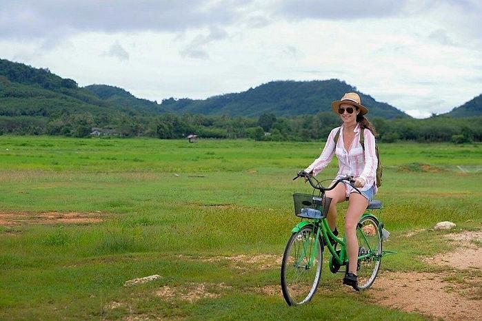 balade en velo thailande
