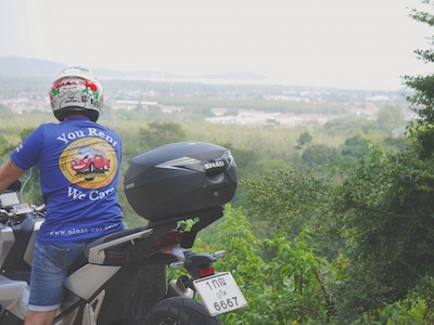 location de moto thailande