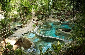 sources d'eau chaude krabi thailande