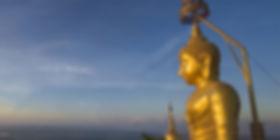Temple du tigre dans la région de Krabi
