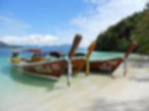 bateau traditionel thailande