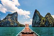 bateau lac khao sok thailande