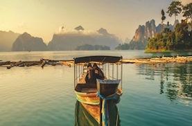 circuit groupe en thailande bateau lac de khao sok