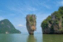 rocher ile james bond sud thailande