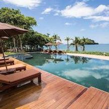 hotel bord de plage sur ile en thailande