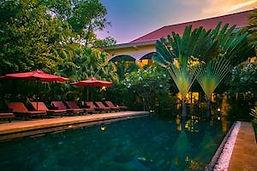 hotel piscine siem reap