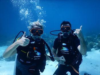 bapteme de plongee en thailande