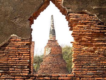 parc historique Ayutthaya en thailande