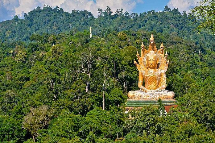 Temple de phang nga thailande